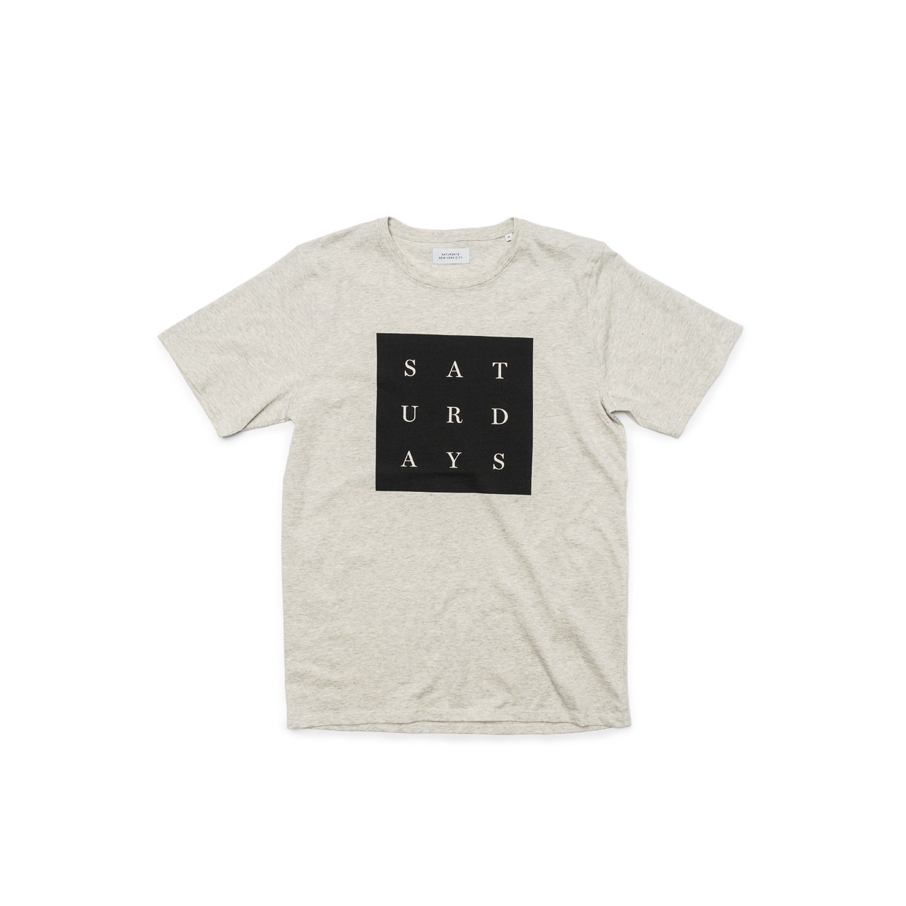 Grid Saturdays S/S Tee