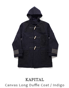 Canvas Long Duffle Coat