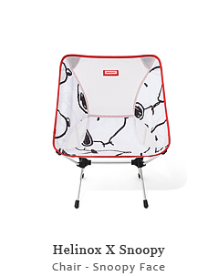 Helinox Snoopy Chair - Snoopy Face
