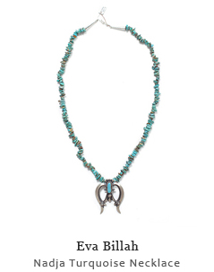 Nadja Turquoise Necklace