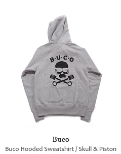 Buco Hooded Sweatshirt / Skull & Piston