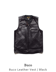 Buco Leather Vest