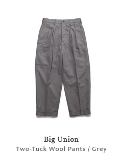 Two-Tuck Wool Pants