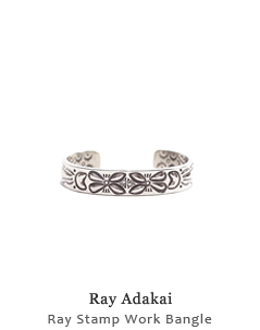 Ray Stamp Work Bangle