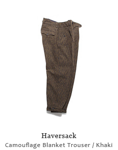 Camouflage Blanket Trouser