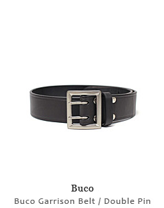 Buco Garrison Belt / Double Pin