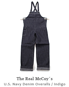 U.S. Navy Denim Overalls