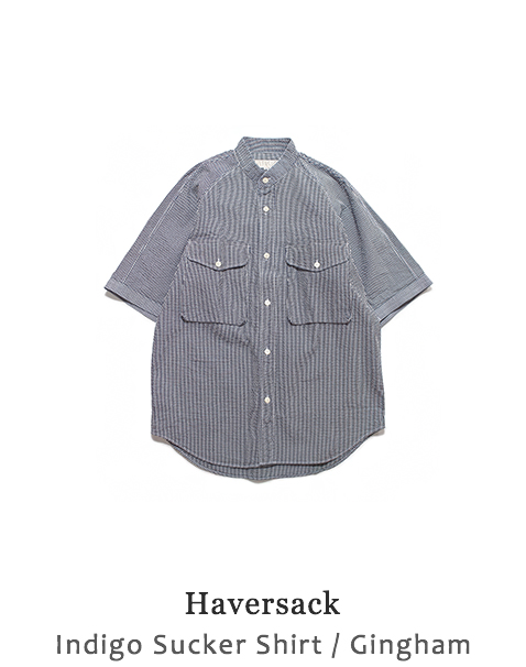 Indigo Sucker Shirt