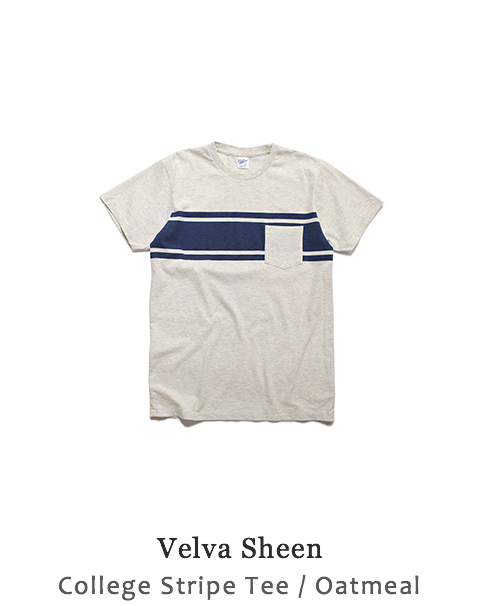 College Stripe Tee