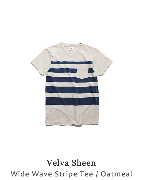 Wide Wave Stripe Tee