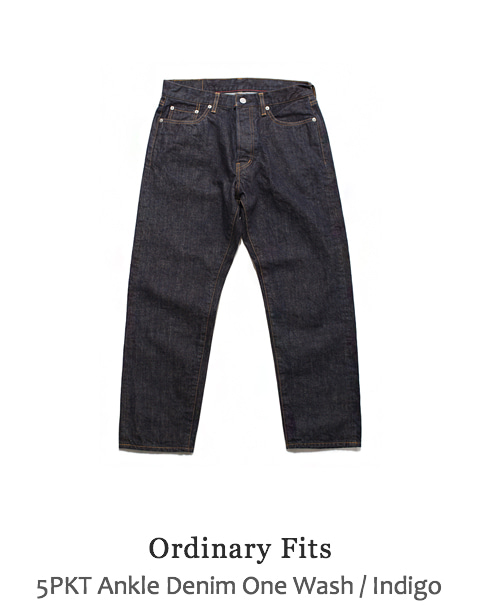 5PKT Ankle Denim One Wash