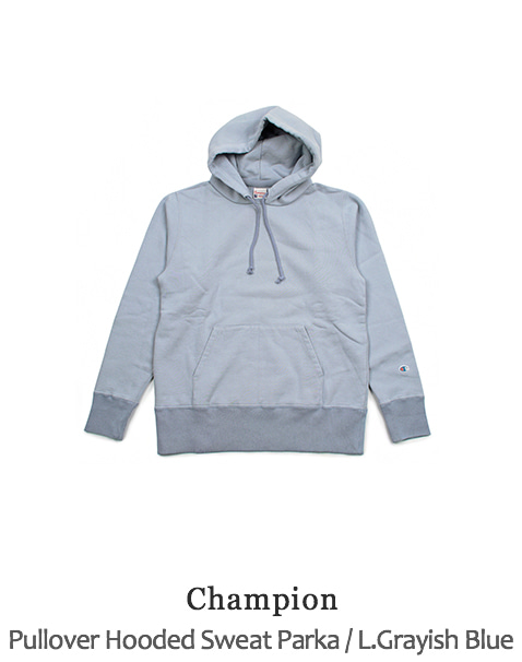 Pullover Hooded Sweat Parka