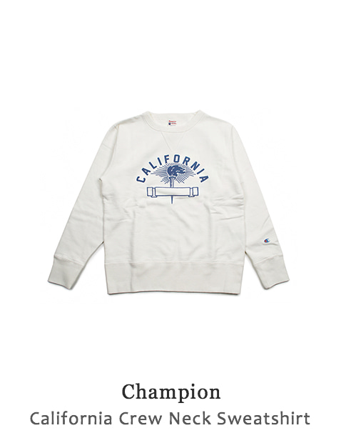 California Crew Neck Sweatshirt