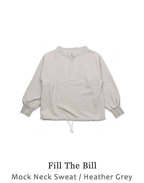 Mock Neck Sweat