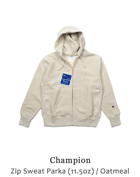 Zip Sweat Parka (11.5oz)