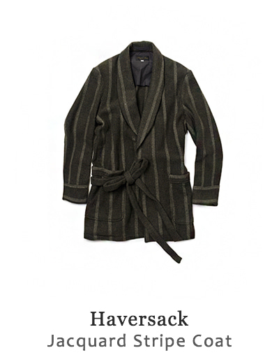 Jacquard Stripe Coat